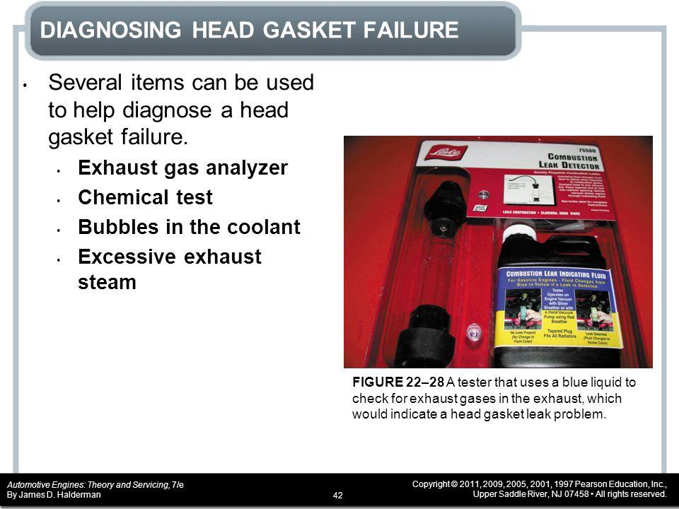 DIAGNOSING HEAD GASKET FAILURE
