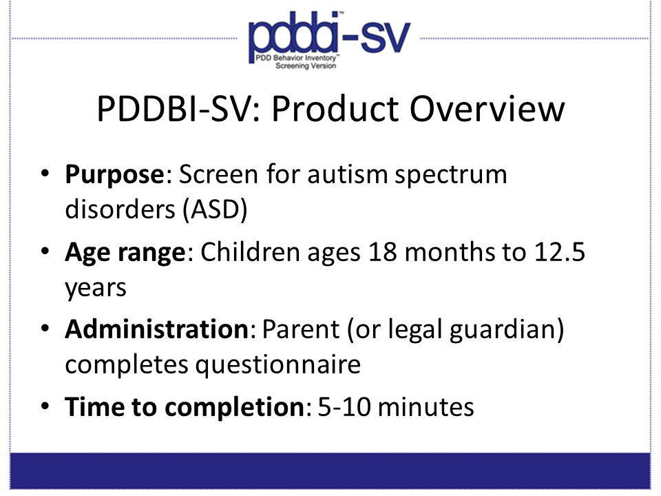 PDDBI-SV: Product Overview