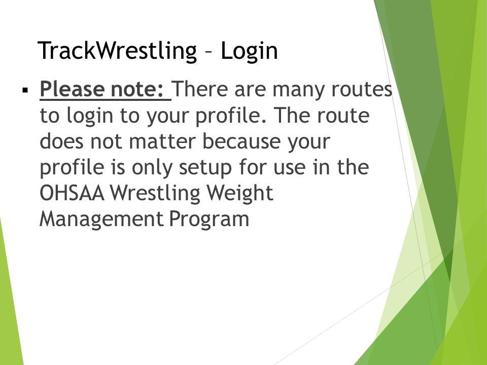 TrackWrestling – Login
