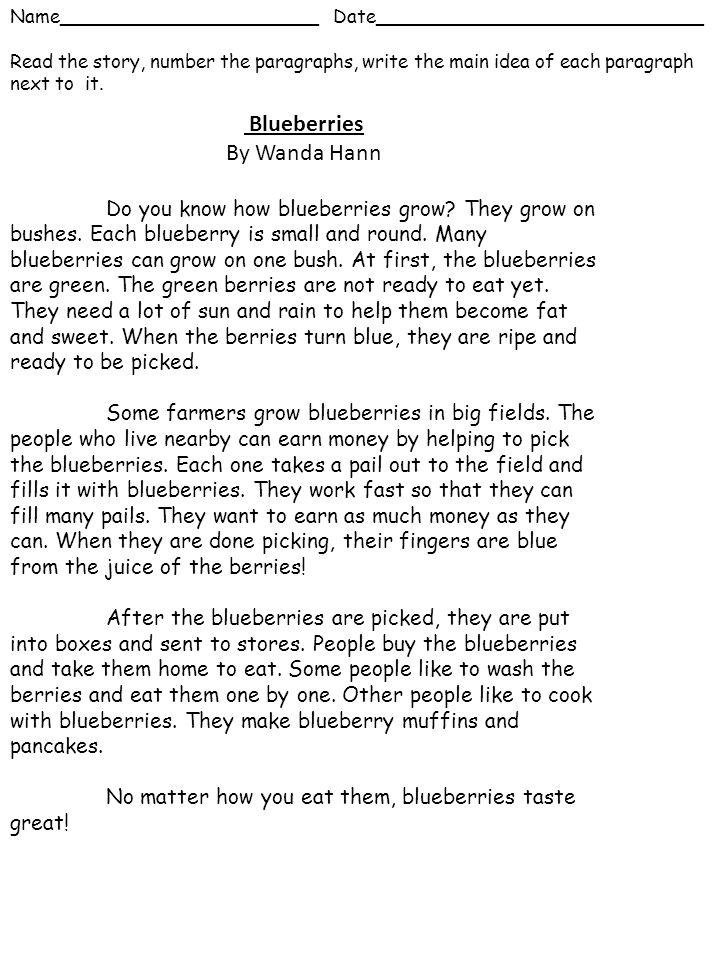 Blueberries By Wanda Hann