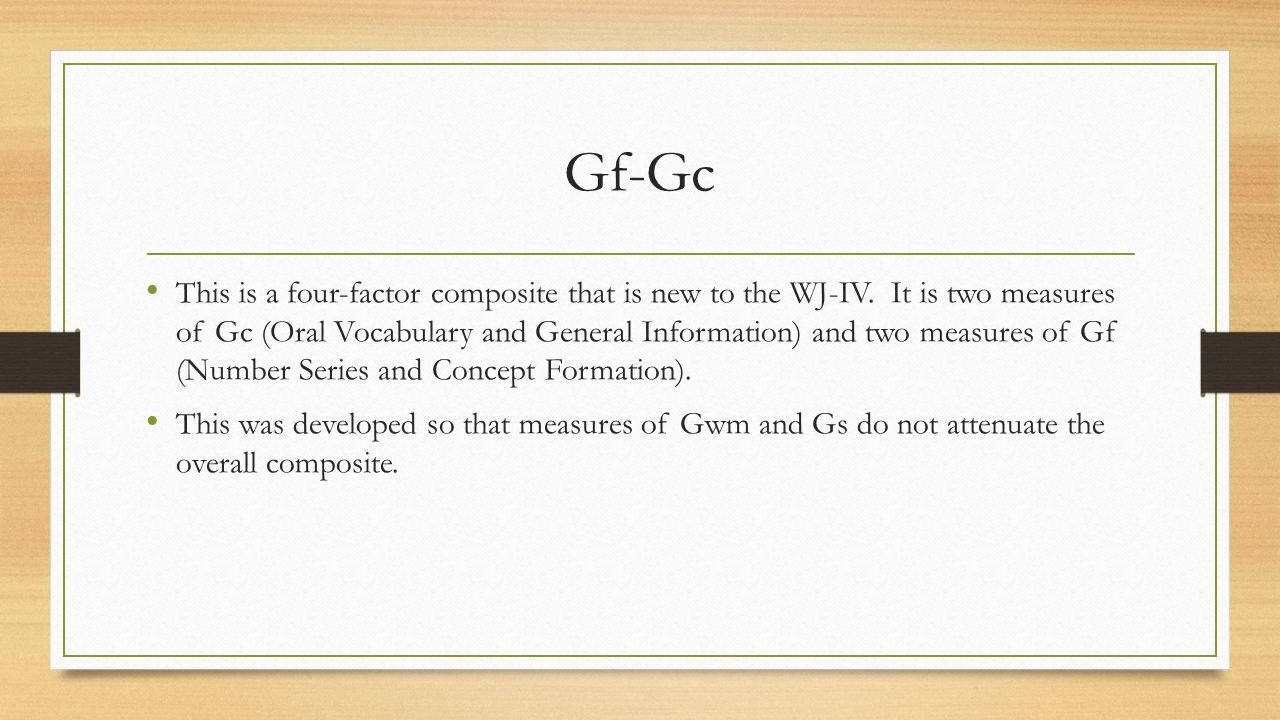 Gf-Gc
