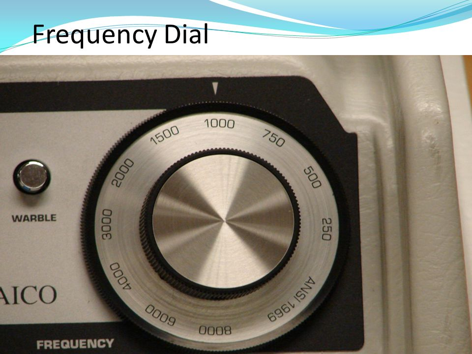 Frequency Dial