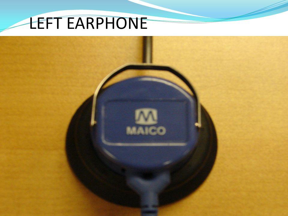 LEFT EARPHONE
