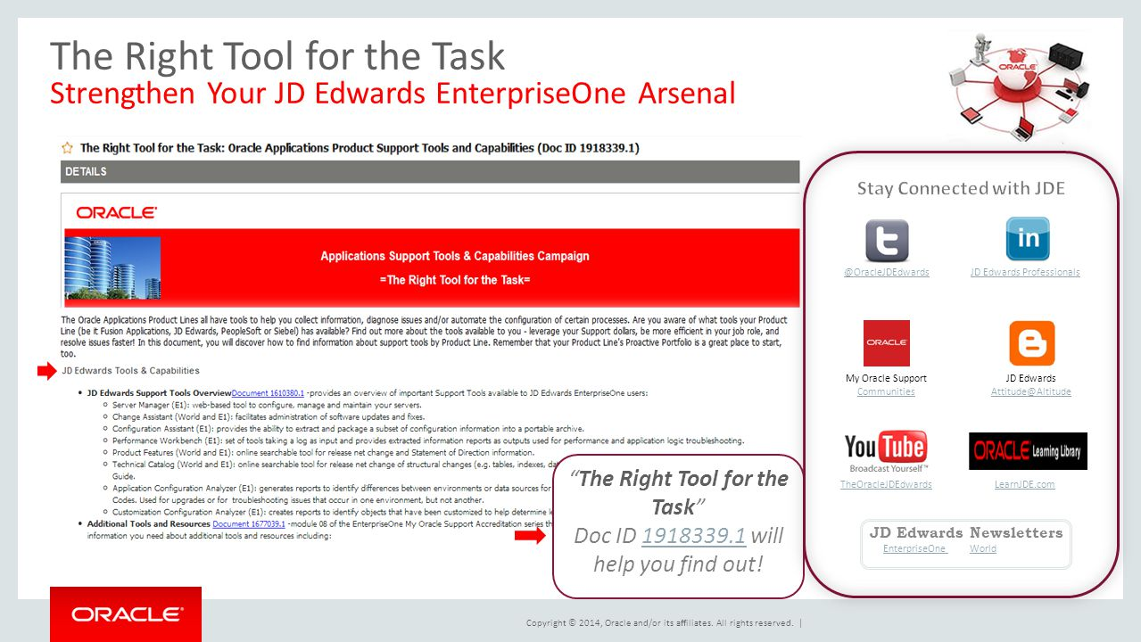 Stay Connected with JDE JD Edwards Newsletters