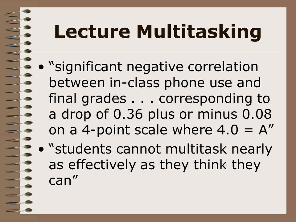 Lecture Multitasking