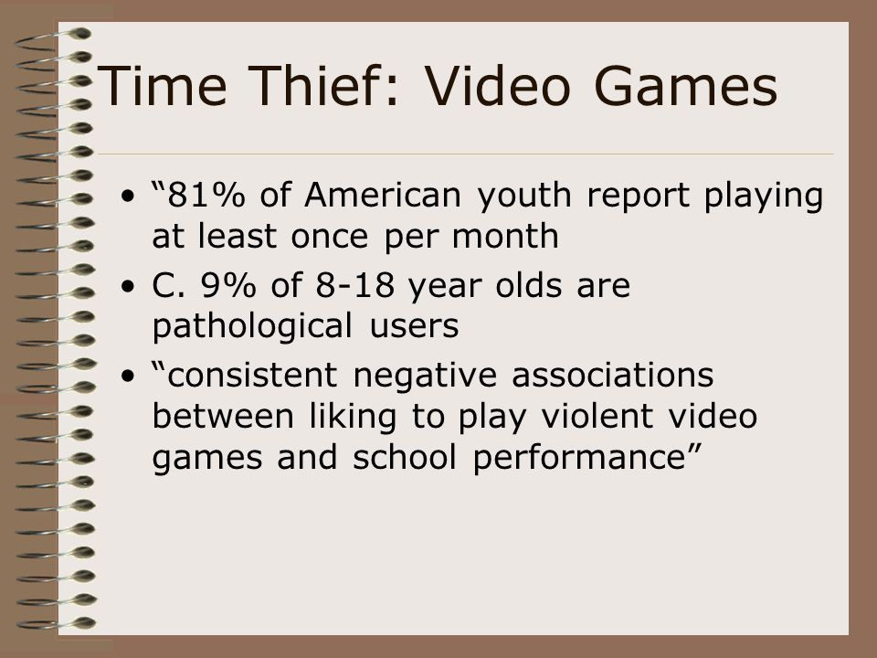 Time Thief: Video Games