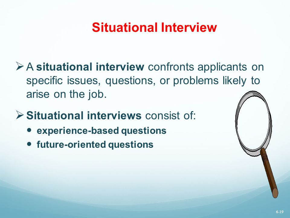 Situational Interview