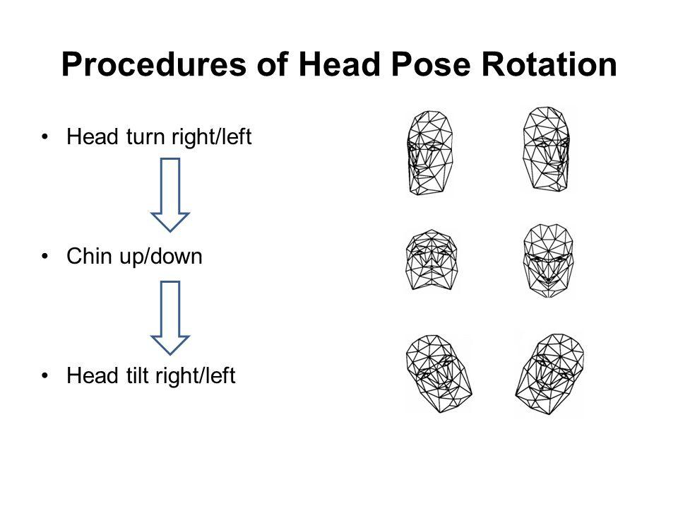 Procedures of Head Pose Rotation