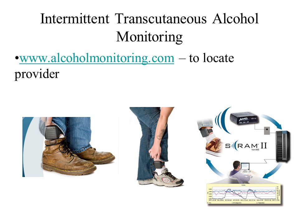 Intermittent Transcutaneous Alcohol Monitoring