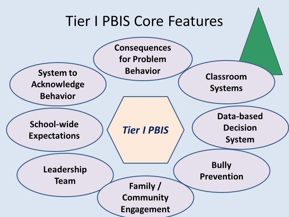 Tier I PBIS Core Features