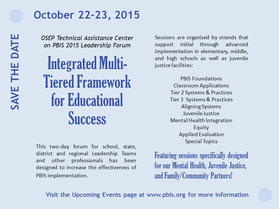 Integrated Multi-Tiered Framework for Educational Success