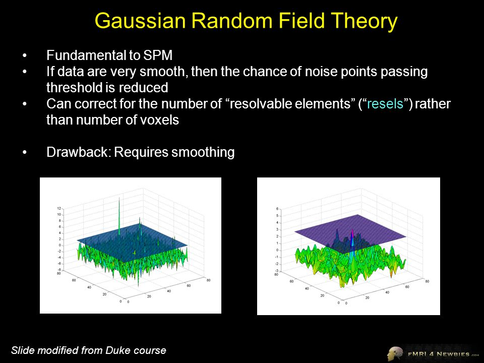 Gaussian Random Field Theory
