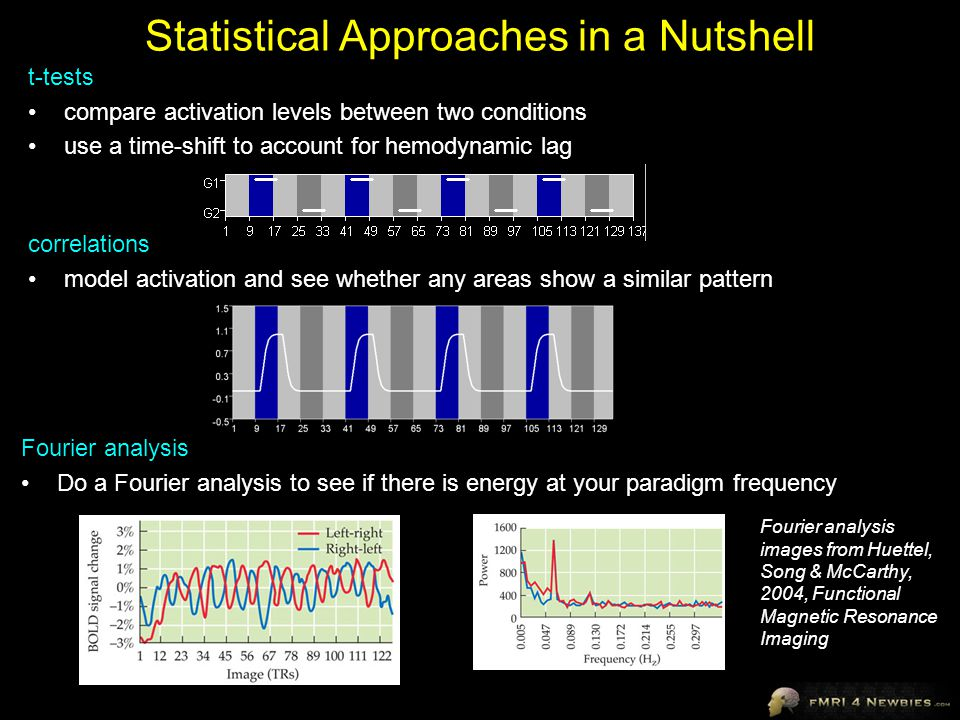 Statistical Approaches in a Nutshell