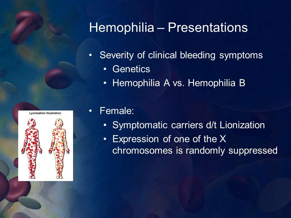 Hemophilia – Presentations