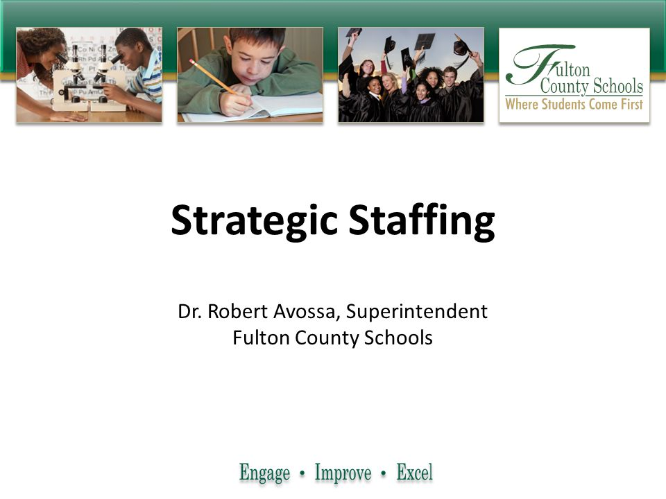 Dr. Robert Avossa, Superintendent Fulton County Schools