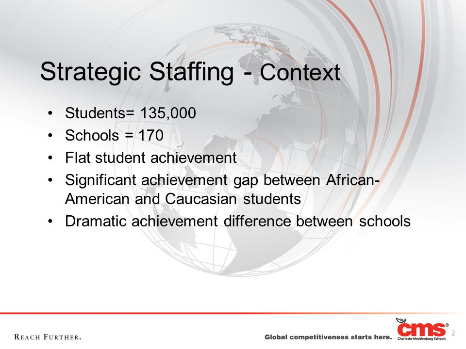 Strategic Staffing - Context