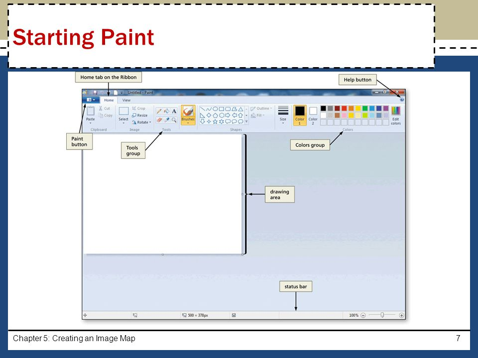Starting Paint Chapter 5: Creating an Image Map