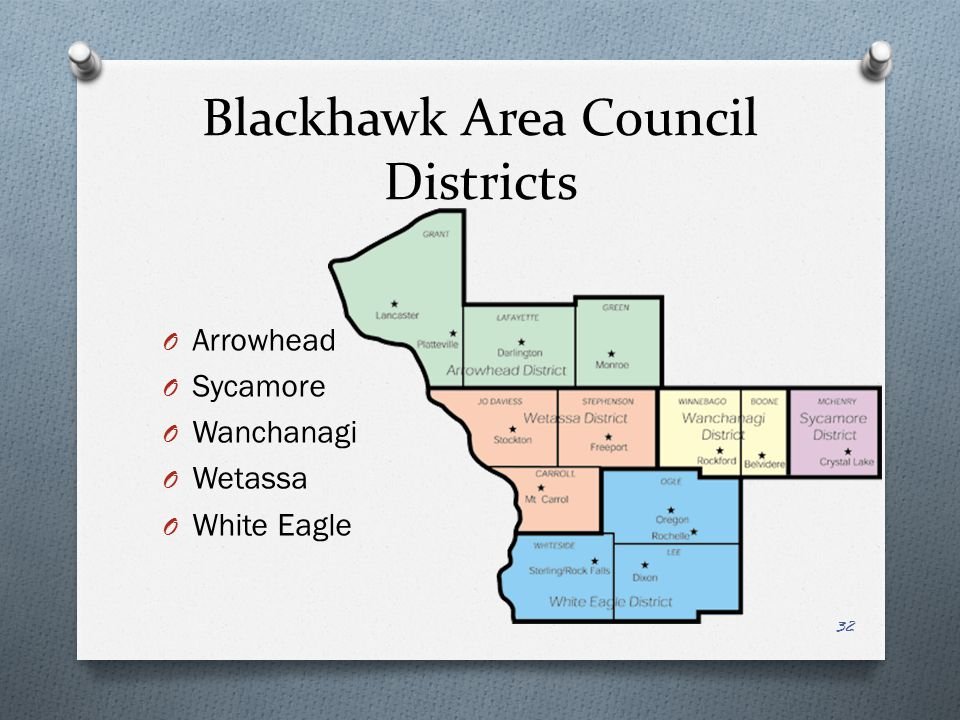 Blackhawk Area Council Districts