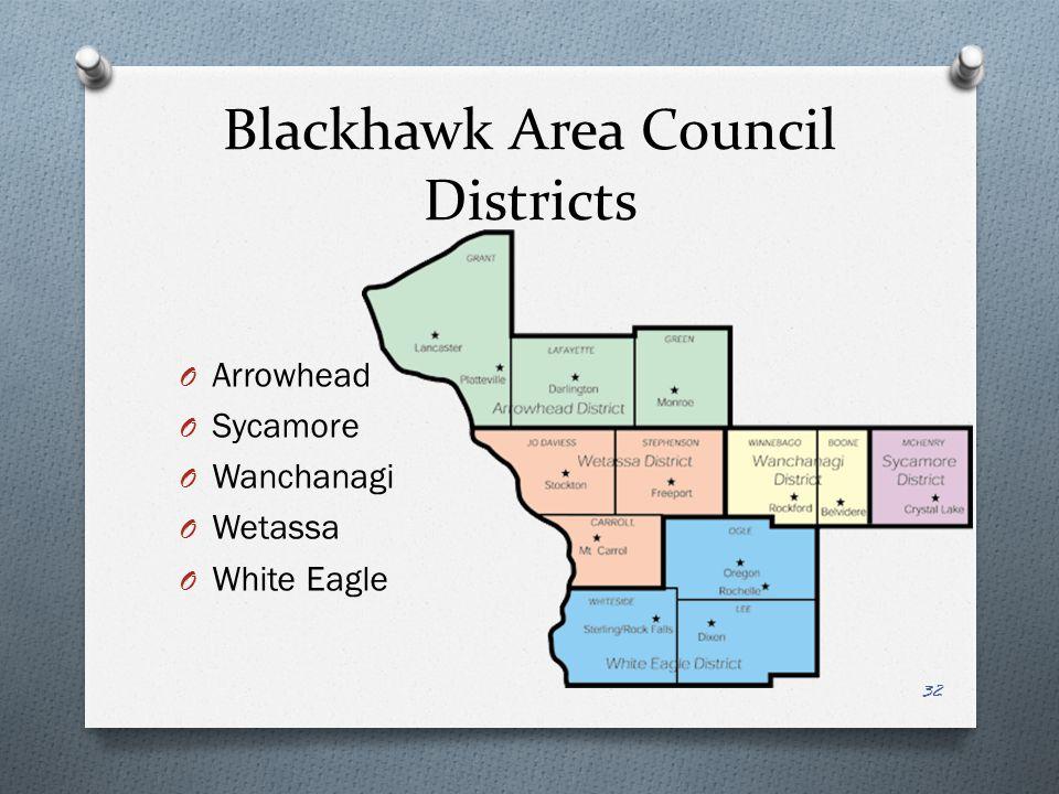 Blackhawk Area Council Districts