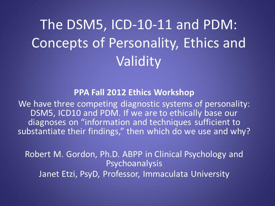 PPA Fall 2012 Ethics Workshop
