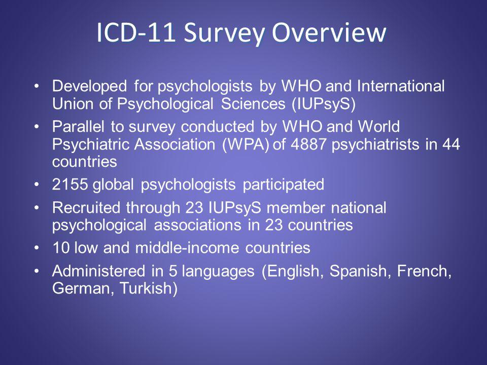 Dr. Geoffrey M. Reed World Health Organization