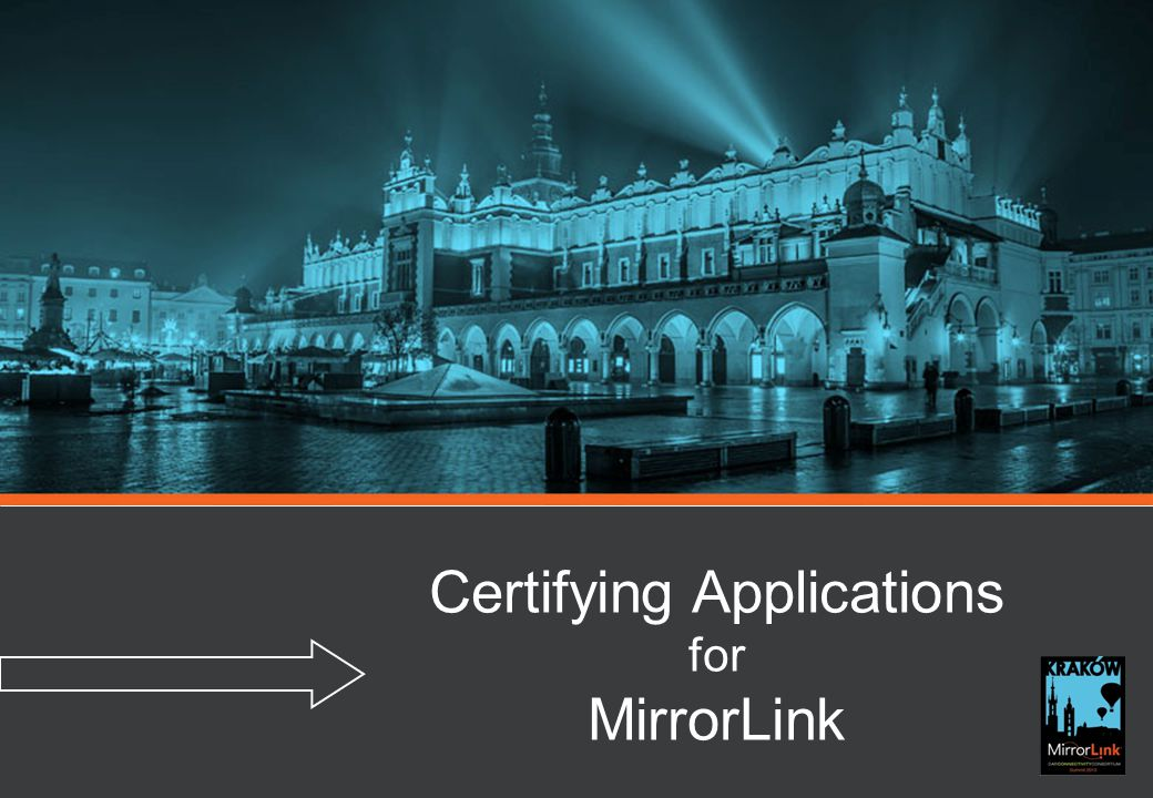 Certifying Applications for MirrorLink