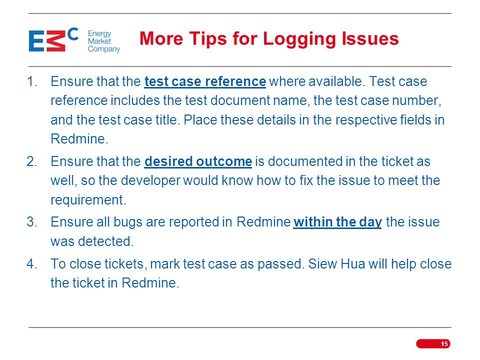 More Tips for Logging Issues