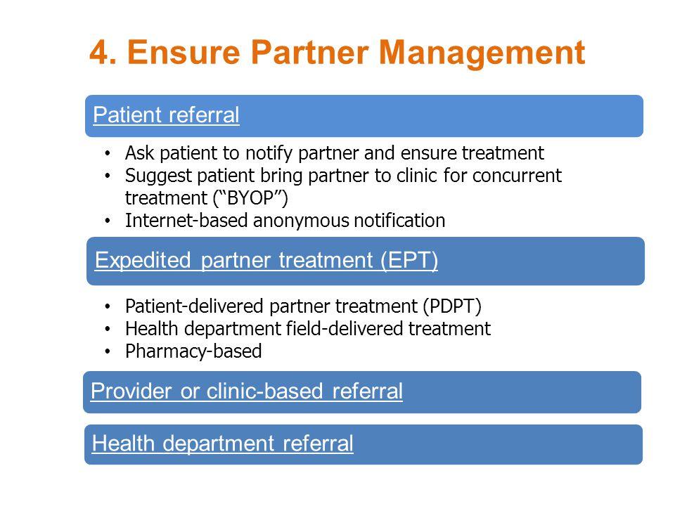 4. Ensure Partner Management