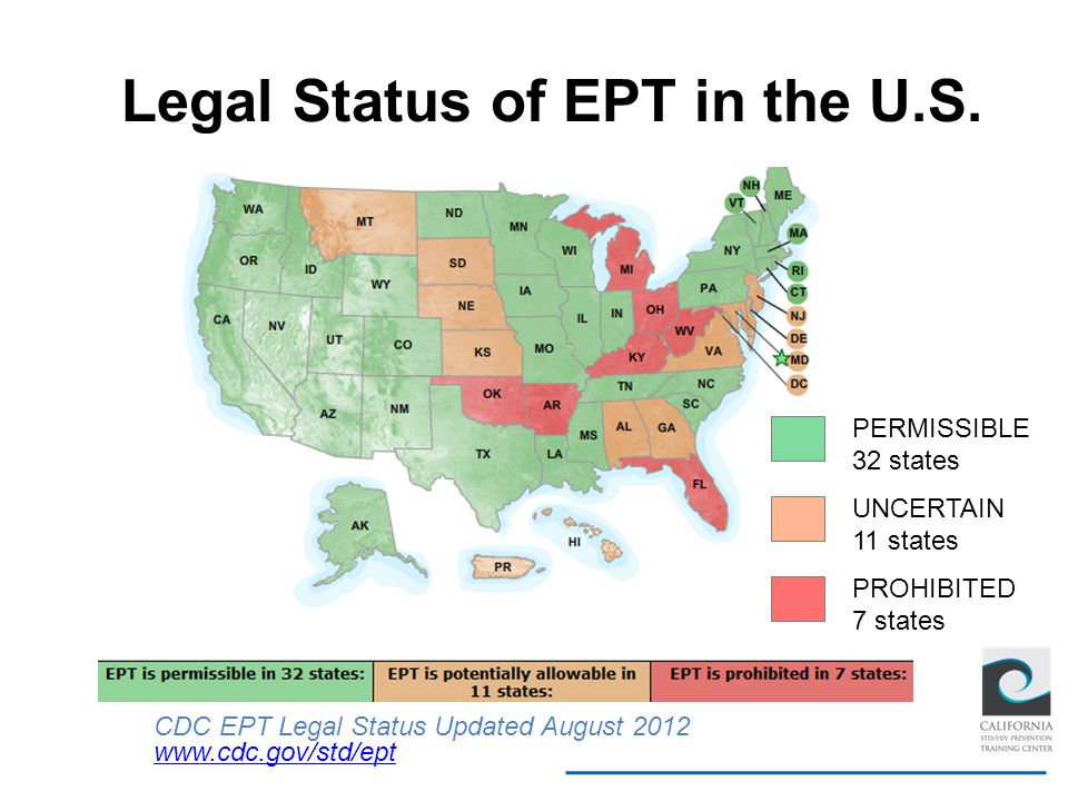 Legal Status of EPT in the U.S.