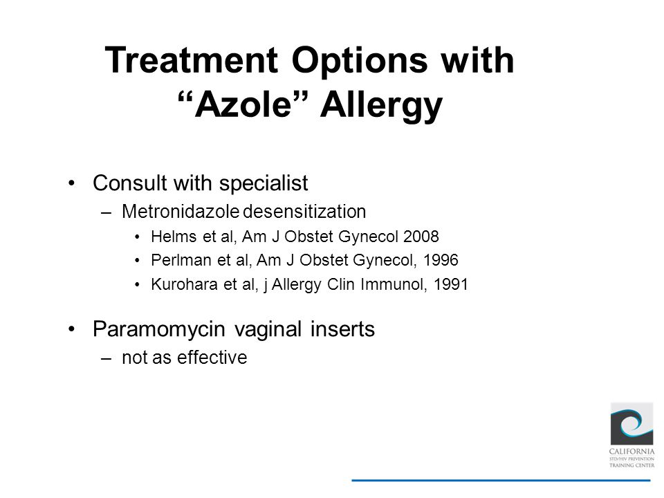 Treatment Options with Azole Allergy