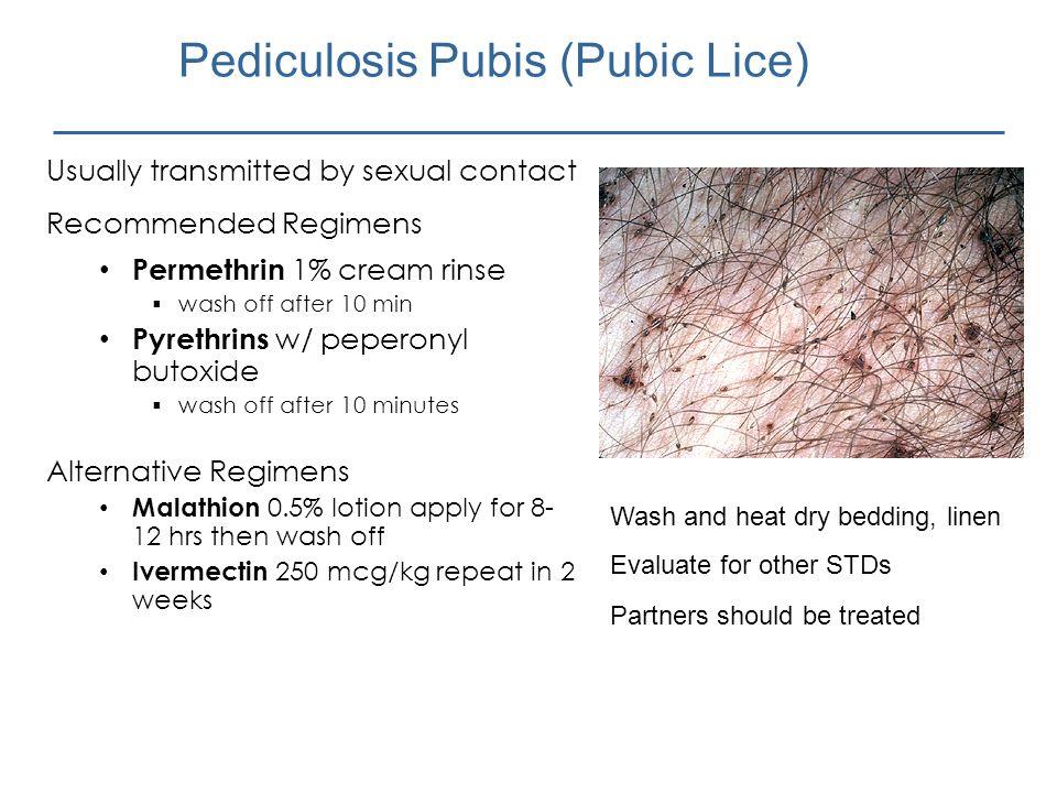 Pediculosis Pubis (Pubic Lice)