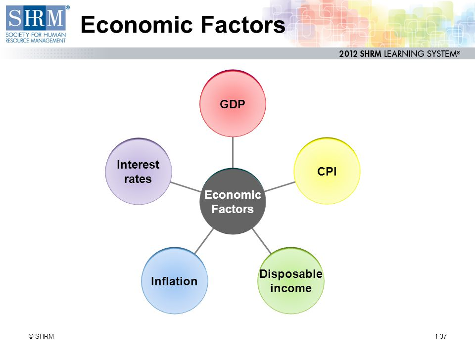 Economic Factors GDP Interest CPI rates Economic Factors Disposable