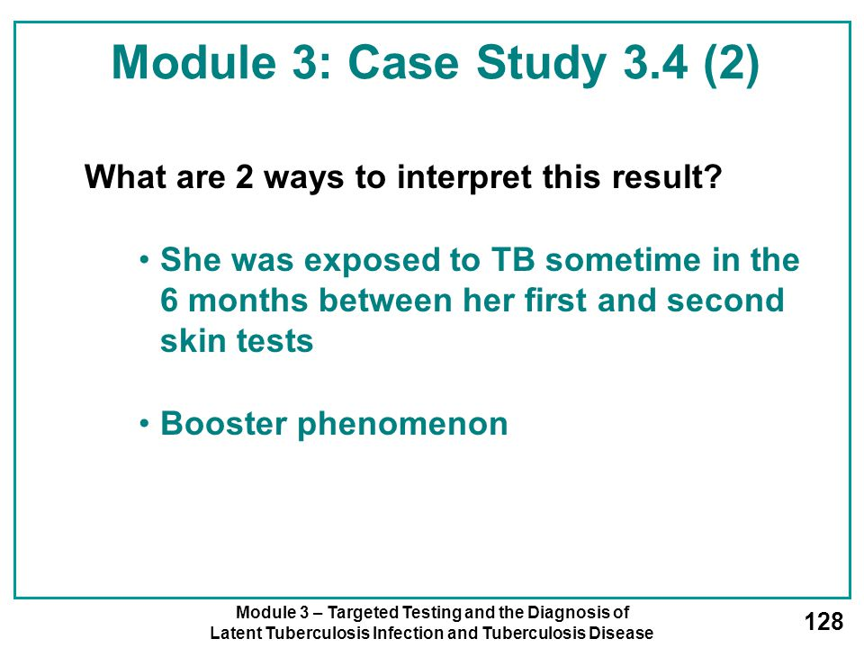 Module 3: Case Study 3.4 (2) What are 2 ways to interpret this result