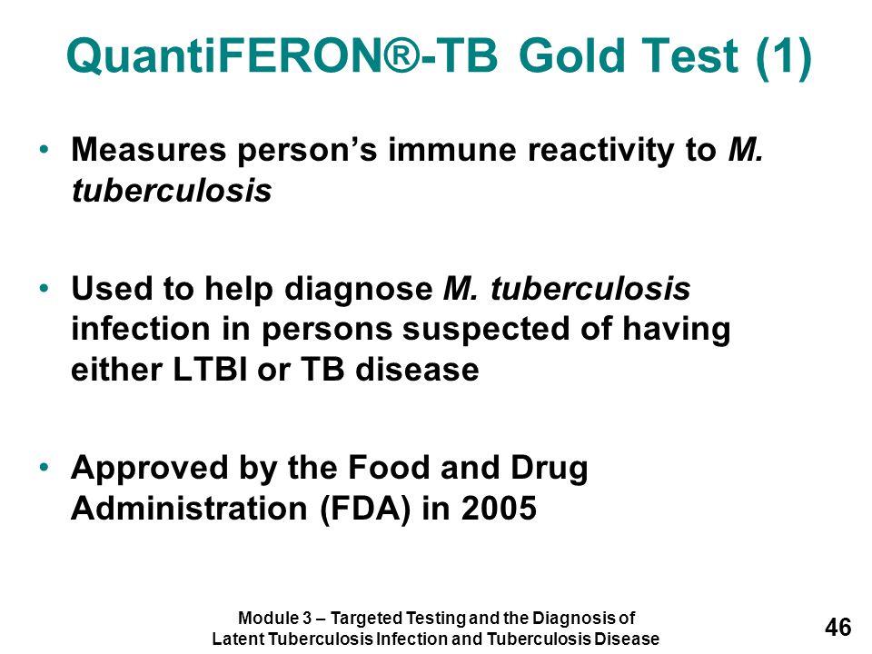 QuantiFERON®-TB Gold Test (1)