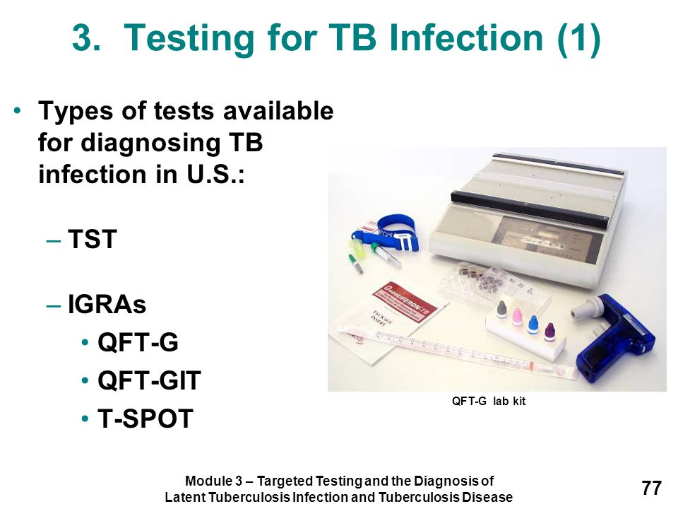 3. Testing for TB Infection (1)