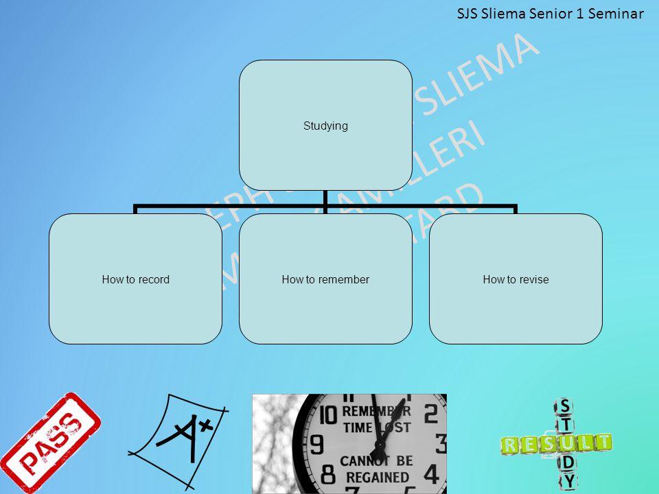SJS Sliema Senior 1 Seminar