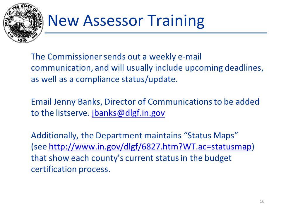 New Assessor Training