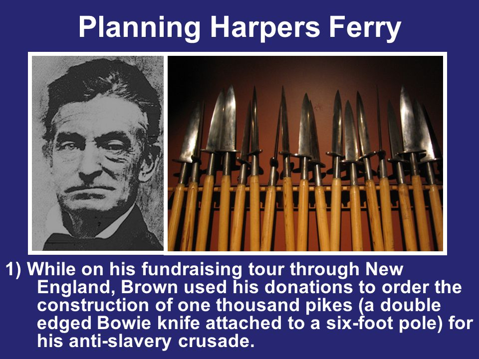 Planning Harpers Ferry