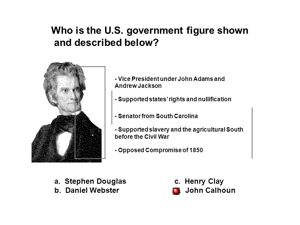 Who is the U.S. government figure shown and described below