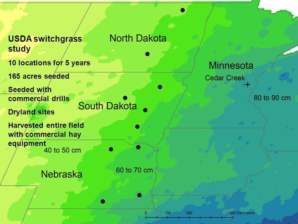 USDA switchgrass study