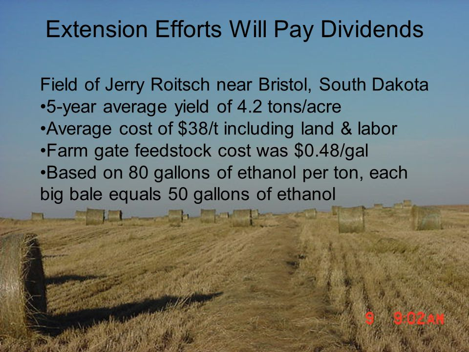 Extension Efforts Will Pay Dividends