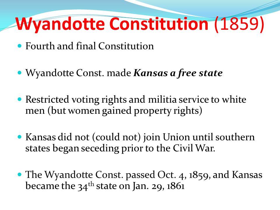 Wyandotte Constitution (1859)