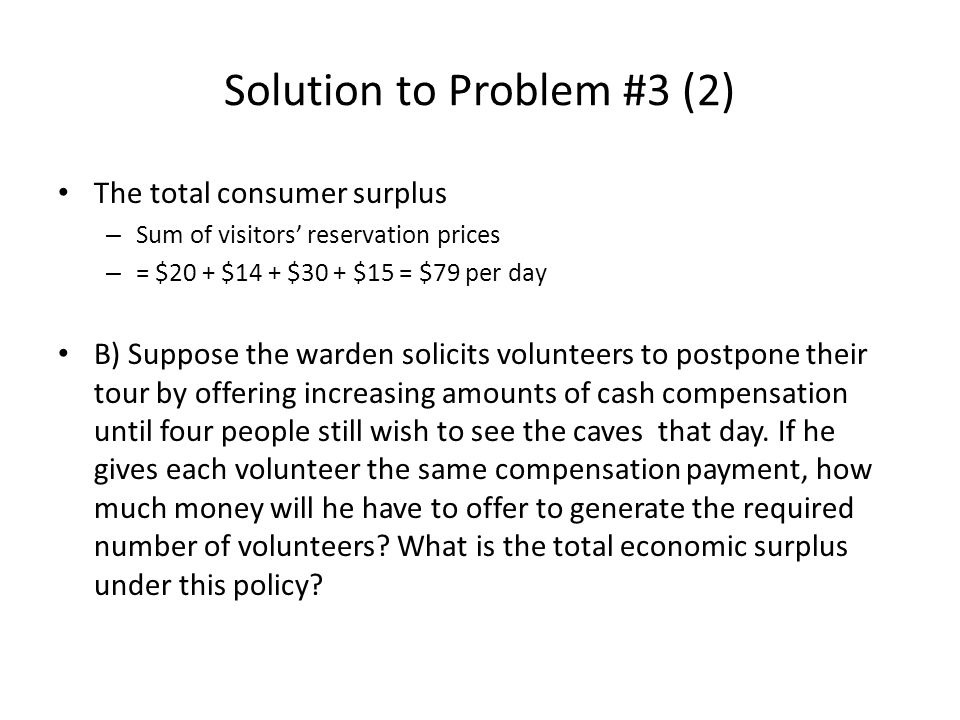 Solution to Problem #3 (2)