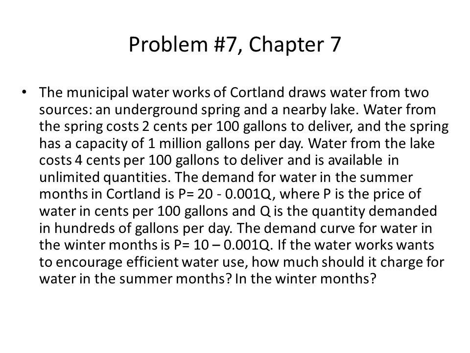 Problem #7, Chapter 7