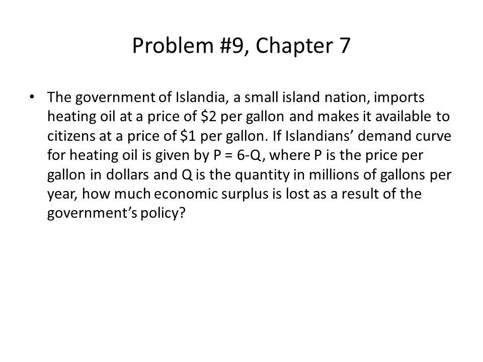 Problem #9, Chapter 7