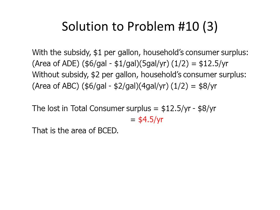 Solution to Problem #10 (3)