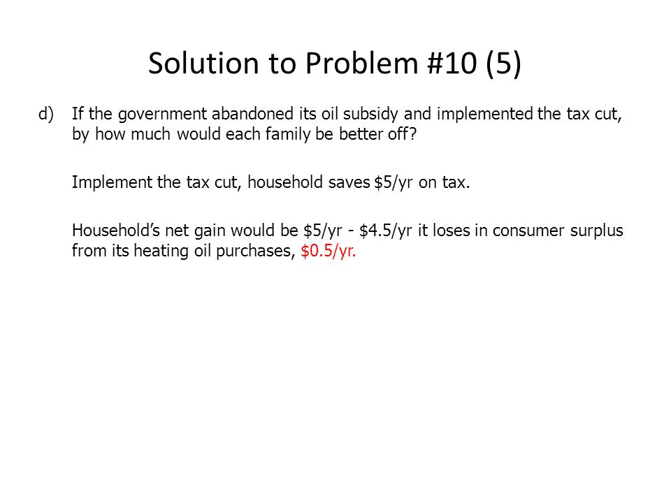 Solution to Problem #10 (5)