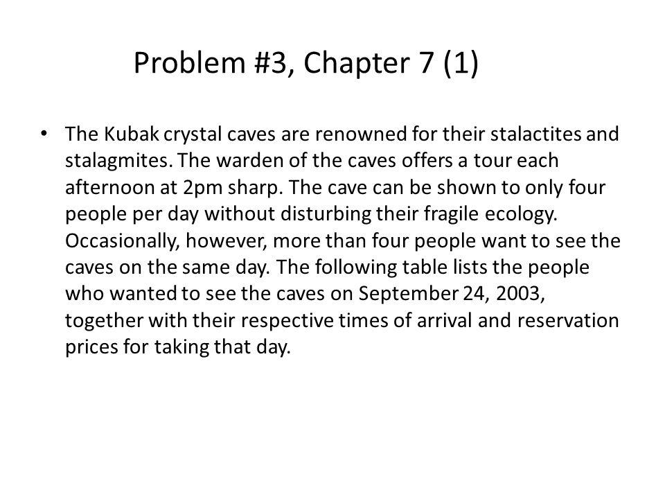 Problem #3, Chapter 7 (1)