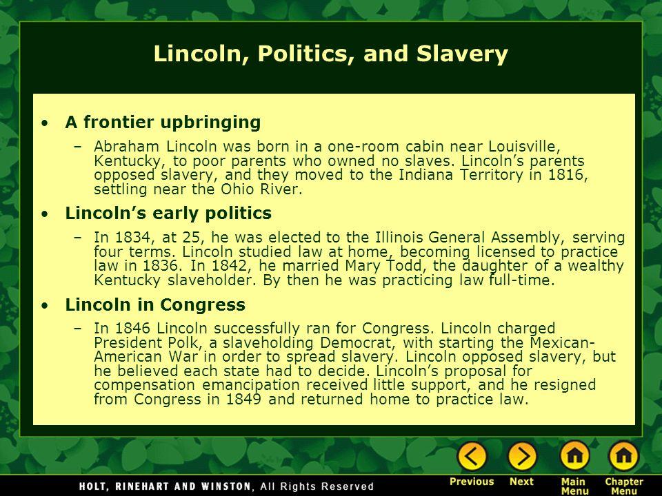 Lincoln, Politics, and Slavery