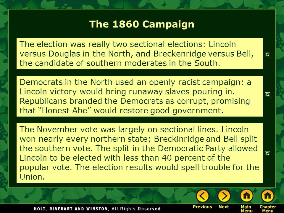 The 1860 Campaign